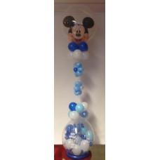 Gave i ballong med Mikke Mus topp