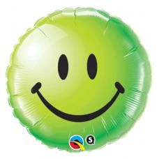Smiley grønn folie