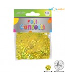 Confetti holographic gull folie 10mm