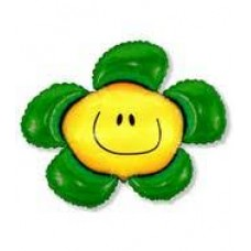 Blomst grønn 35cm